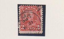 Canada 167 2c Arch Geo V. IRMA, ALTA. c.d.s 1932