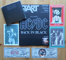 AC/DC - 40 Jahre Back In Black - CD und Heft (incl. Promo-Material)