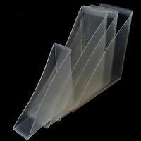 CLEAR PVC PLASTIC PICTURE PROTECTIVE FRAME CORNERS PUSH ON CANVAS EDGE CORNER