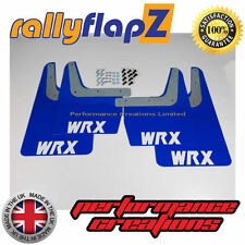 Rallyflapz SUBARU IMPREZA Sedán Clásico / Wagon 93-00 BLUE WRX BLANCO 4mm PVC