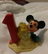 VINTAGE #1 BABY MICKEY. DISNEY- APPLAUSE - PVC FIGURE