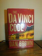 The Da Vinci Code by Dan Brown Hardback Book