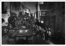 WW2 - Photo-carte - Italie - Campanie - Libération de Naples en octobre 1943