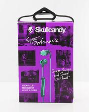 Skullcandy Method In-Ear Buds Sport Headphones w/Mic & Remote (Teal/Green) OPEN