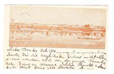 Peru PICTORIAL POSTAL CARD-HG:52-IQUITOS(brown)-LIMA 2/JUL/1903-TO VIENNA