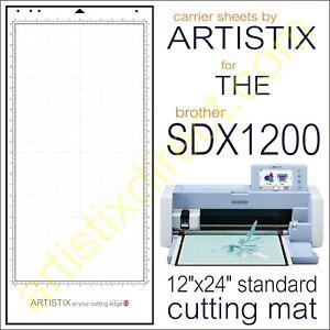 Scan N Cut SDX Artistix Pro Cutting Mat Carrier Sheet Scanncut 12 x 24 Brother