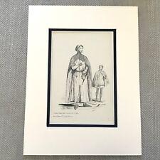 1900 Antique Print Historical Fashion Costume William de la Pole Earl of Suffolk