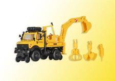 kibri 16307 Gauge H0, Two way UNIMOG with Backhoe loader # in #