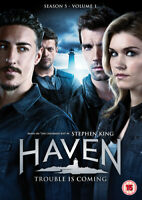 Haven: Season 5 - Volume 1 DVD (2015) Emily Rose cert 15 3 discs ***NEW***