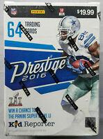 Panini Prestige Football Blaster Box NFL 2016 Trading Cards Sammelkarten