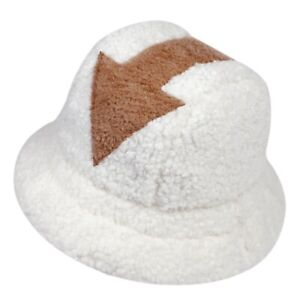 bucket hat Lamb wool hat winter warm Fishing Caps Arrow Symbol men women printed