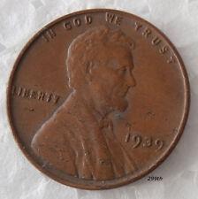 """1939   Wheat Penny Error    """"Lamination"""""""