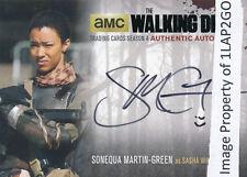 Walking Dead Season 4 Part 2 Sonequa Martin-Green SMG2 Autograph Auto Black