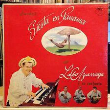 [SOUL/LATIN]~EXC/VG+ LP~LUCHO AZCARRAGA Y Su CONJUNTO~Siesta En Panama~['63~MONO