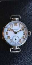 Vintage Military CIVITAS Watch .925 Silver Swiss Made Mint Condition RARE