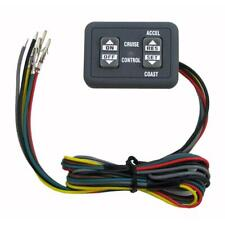 New listing Audiovox/Rostra Ccs100 Dash Mount Cruise Control Switch Flat Panel 250-3593
