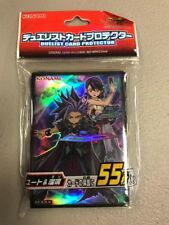 Yugioh Konami  Official Card Sleeve Yuto & Ruri Protector x55 Sealed