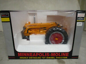 "(2005) Minneapolis Moline U Diesel Toy Tractor ""Classic Series"" 1/16 Scale NIB"
