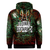 Five Finger Death Punch Band Tour Hoodie New Polyester Men's Hoodie Longsleeve