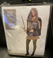 SKILLED ARCHER (Katniss, GOT) COSTUME * Women's: Small * Halloween * New