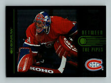 1997-98 DONRUSS BETWEEN THE PIPES JOCELYN THIBAULT Insert Card # 10 Rare / 3500