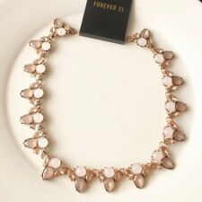 """New 16"""" Forever21 Bib Collar Necklace Gift Fashion Women Party Holiday Jewelry"""