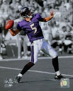 Joe Flacco Baltimore Ravens NFL Licensed Unsigned Glossy 8x10 Photo H