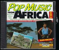 POP MUSIC From AFRICA PART 2 Sealed CD 1990 DAN NKOSI Compilation World South