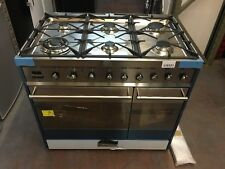 Smeg Symphony SY92PX8 90cm Dual Fuel Range Cooker - Stainless Steel