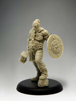 OLD BARBARIAN 35mm Scale RESIN Black Sun Miniatures