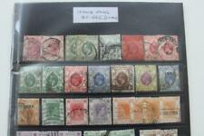 HONG KONG stamp collection Useful Range QV onwards