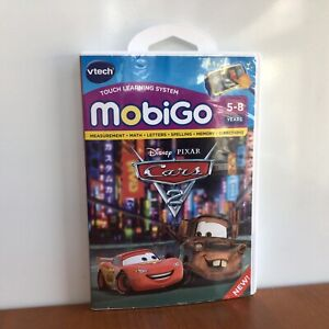 Cars 2 Mobigo Vtech Touch Learning System Disney Pixar Math Letters Spelling