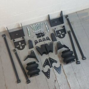 1973-87 Chevy C10 Pickup Truck Suspension Four 4 Link Air Ride Kit GM GMC LS V8