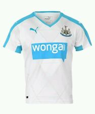 Puma Newcastle United FC Alternate Jersey Men's Large DryCELL White $90 NEW
