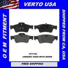 Verto USA Set Of Rear ***Ceramic**** Disc Brake Pads For Mercedes   VC1122