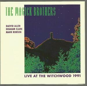 Daevid Allen & The Magick Brothers - Live at the Witchwood 1991 CD VG Gong