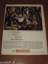 *=PARKE-DAVIS MEDICINE=1961=PUBBLICITA'=ADVERTISING=WERBUNG=PUBLICITE=