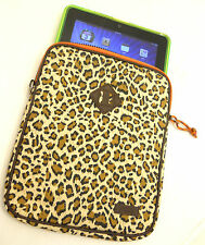 "iPad Sleeve Cover tablet Hester St. Trading Co. Cheetah Print 8.5""W Universal"