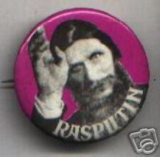 Old RASPUTIN pin monk mystic RUSSIA pinback