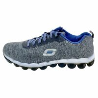 Skechers Womens Skech Air 12043 Gray Running Shoes Lace Up Low Top Size 9.5