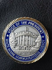 Authentic  RARE Presidential Communications Command WOLF Pack PCC II Coin -04
