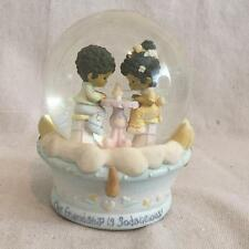 """Precious Moment Snow Globe & Music Box """"In the Good Old Summertime"""""""