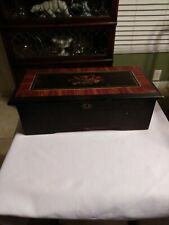 Antique music box - box only - great replacement