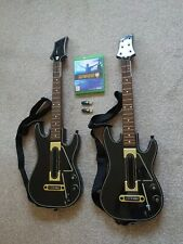 Guitar hero: Live (Xbox One) with 2 guitars and 2 wireless console connectors