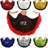 Designer Satin Skirt 12 Yard Flamenco Belly Dance Gypsy Tribal Ruffle Jupe ATS