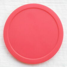 FASTER 2pcs 82mm RED Air Hockey table Puck Arcade GAME 29g BIG