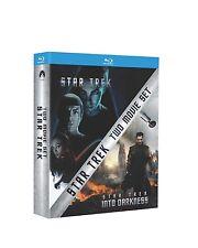 Star Trek + Star Trek Into Darkness [Blu-ray] Box Set 1-2 Movie Collection