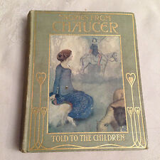 W Heath Robinson - Stories From Chaucer Told To The Children - Jack 1905