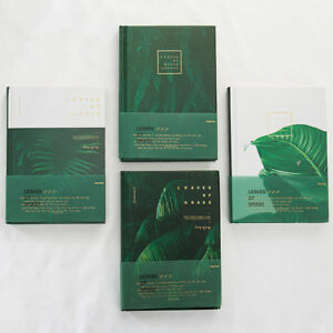 """""""Grass Leaves"""" 1pc Beautiful Hard Cover Diary Notebook Journal Student Girl Gift"""