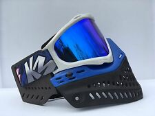 NEW JT Proflex 05 Blue Thermal Spectra Paintball Mask Goggles KM Strap